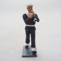 Figurine CBG Mignot Bombarde Bagad Lann Bihoué Tenue Hiver