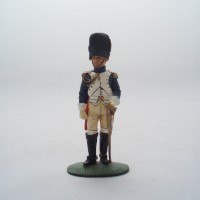 Figurine Del Prado officer Cavalry guard 1809-14
