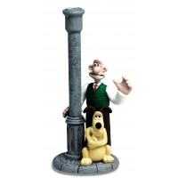 Statuette Wallace & Gromit BOUGEOIR Démons et Merveilles