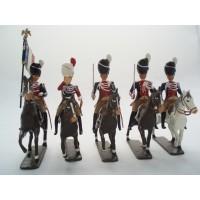 Lot de 5 Gendarmes d'Elite CBG mignot