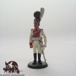 Figurine Del Prado Capitaine Dragons Bavière 1806-11