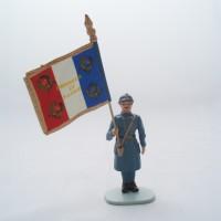 Figurine Hachette Drapeau Francais