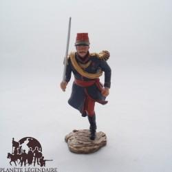 Figurilla Hachette segundo teniente Legión extranjera, 1837