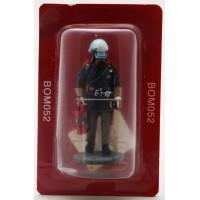 Figurine Del Prado Pompier Tenue de Feu RDA 1985