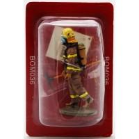 Figurine Del Prado Pompier Tenue de Feu Québec Canada 2003