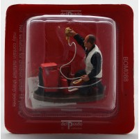 Figurine Del Prado Pompier Infirmier Tenue de travail France 2003