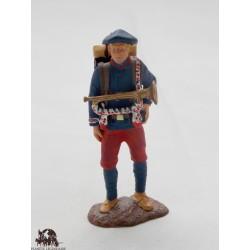 Figurine Atlas Fantassin de l'infanterie alpine 1914