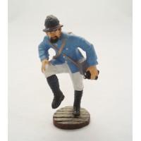 Figurine Atlas Artilleur pointeur du canon de 75