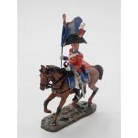 Figurine Del Prado Porte Drapeau Royale G.-B. 1815
