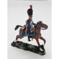 Figurine Del Prado Hussard d'Amérique 1792