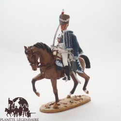 Figurine Del Prado Hussard Cavalerie Légère GB 1813