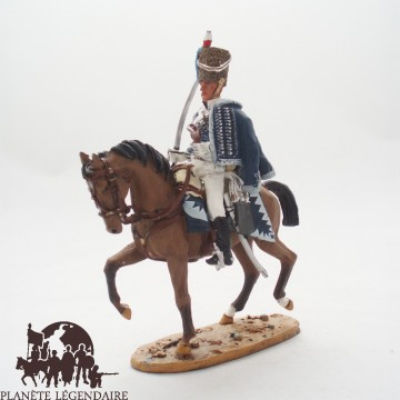 Luce di figurina del Prado Hussar cavalleria GB 1813