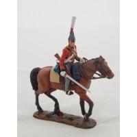 Figurine Del Prado Régiment 2e Dragon King German Legion 1812