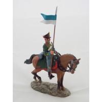 Figurine Del Prado Hussard de Pavlograd Russie 1812