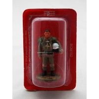 Figurine Del Prado Pompier Tenue de Feu Mongolie 2004
