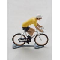Figurine CBG Mignot Cycliste Maillot Jaune