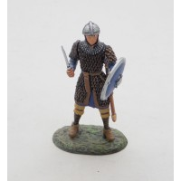 Figurine Altaya Homme à pied Carolingien VIIIe siècle