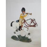 Figurine Del Prado Trompette dragons légers 1808