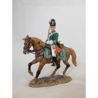 Figurine Del Prado Officier Chevau-léger Hesse Darmstadt 1790