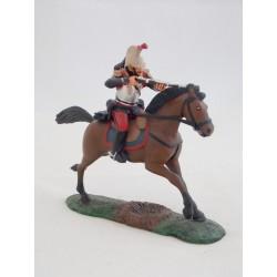 Figurine Atlas Officier de cuirassiers à cheval 1914