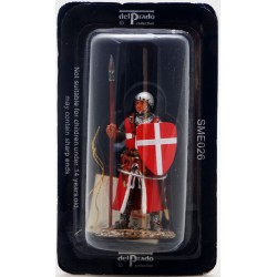 Figurine Del Prado Cavalier Hospitalier vers 1330