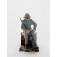 Figurine Atlas hairy of the colonial troops of 1918