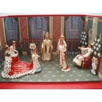 Diorama Le Sacre de Napoleon 1er CBG Mignot