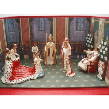 Diorama CBG Mignot Le Sacre de Napoleon 1er