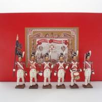 Coffret CBG Mignot 6 Grenadiers britanniques au pas