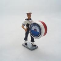 CBG Mignot drum Bagad Lann Bihoue figurine