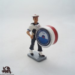 Figurine CBG Mignot Grosse Caisse Bagad Lann Bihoué