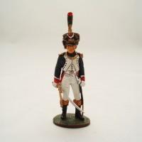 Del Prado officer Tirailleur Hunter young guard 1810 figurine
