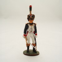 Figurine Del Prado Officier Tirailleur Chasseur Jeune Garde 1810