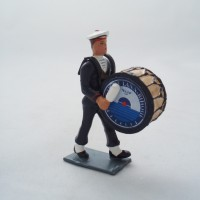 Figurine CBG Mignot Grosse Caisse Bagad Lann Bihoué Hiver