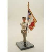 Bandiera porta CBG Mignot legionario di figurina