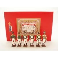 Coffret Luxe 6 Figurines CBG Mignot Flanqueurs de la Garde