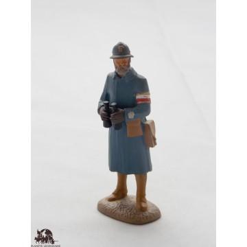 Figurine Atlas Officier d'Etat Major de 1917