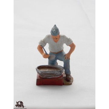Figurine Atlas Cook of 1918