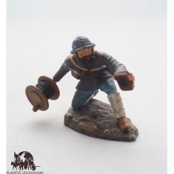 Figurine Atlas Sapeur télégraphiste de 1918
