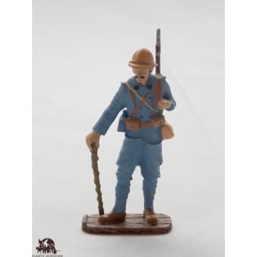 Figurine Atlas Poilu de la Somme de l'été 1916