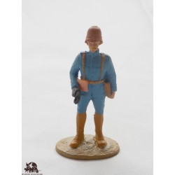 Figure Atlas officer in the army of the Orient of 1918