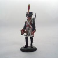 Infantería de la estatuilla Del Prado Bugle línea a Francia 1809