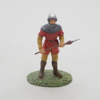 Figurina Altaya uomo XIII secolo fiamminga a piedi