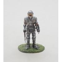 Soldado de Altaya estatuilla edad media armadura tipo Maximilien 1415