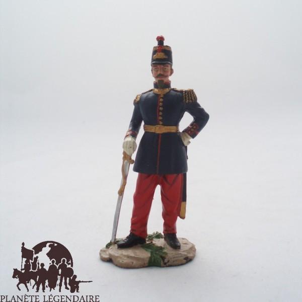 figurine hachette l gion l gionnaire capitaine 1er re 1845. Black Bedroom Furniture Sets. Home Design Ideas