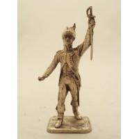 Ufficiale di fanteria MHSP figurina