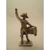 Tamburo di figurina MHSP soldato
