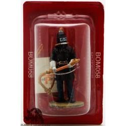 Del Prado firefighter figurine with respiratory helmet Berlin 1900