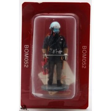 Figurina Del Prado vestito di vigile del fuoco del fuoco GDR 1985