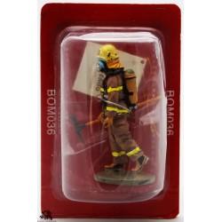 Figurina di vestito del Prado pompiere fuoco Québec Canada 2003
